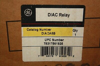 Ge Diaca5B Digital Overcurrent Protection 5A Relay