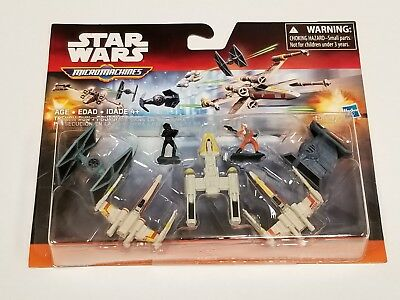 Star Wars The Force Awakens Micro Machines Deluxe Vehicle Pack Trench Run