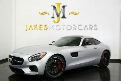 2016 Mercedes-Benz AMG GT S ($150,510 MSRP)...ONLY 2900 MILES! 2016 MERCEDES AMG GT S, $150K MSRP! MATTE SILVER ON RED PEPPER/BLACK, 2900 MILES