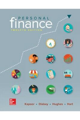 Personal Finance by Hughes, Kapoor, Dlabay and Hart 12th Ed ‭9781259720680‬