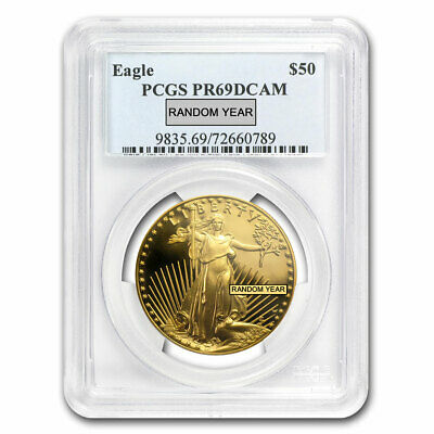 1 oz Proof Gold American Eagle PR-69 PCGS (Random Year) - SKU #83510