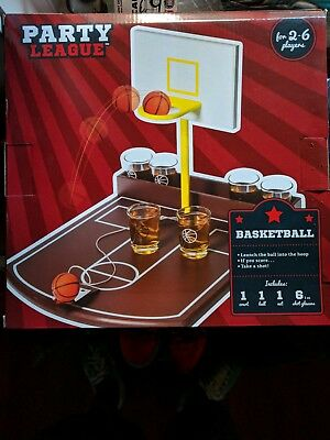 Party League Basketball Shots Drinking Game