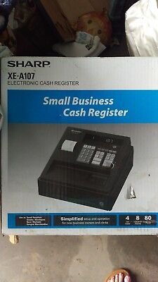 Sharp XE-A107 Cash Register - New In Original Box