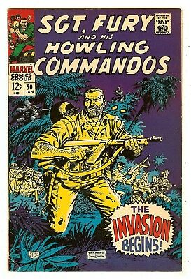 Sgt. Fury And His Howling Commandos 50