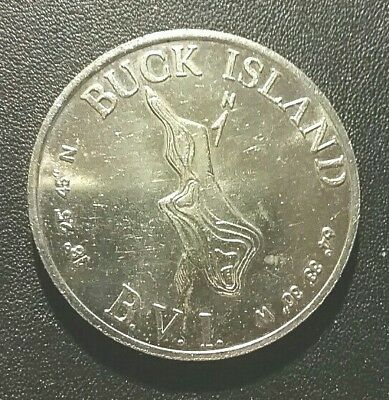 BUCK ISLAND (BVI), 1961 1 Buck TN5. Uncirculated, extremely low mintage.