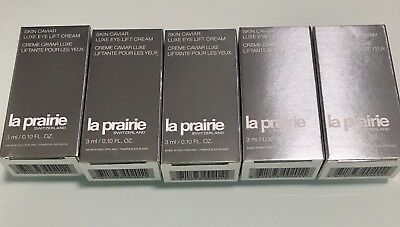 La Prairie Skin Caviar Luxe Eye Lift Cream 5x3ml=15ml Muestras-Samples