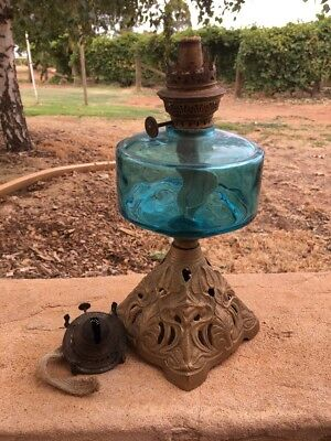 Vintage Kerosene Oil Lamp Parts