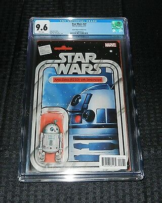Star Wars #27 CGC 9.6 Action Figure Variant