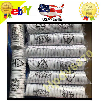 Wholesale Lot 3.6.10ft 8 Pin USB Data Sync Charger Cable Cord for iPhone 5 6 7 8