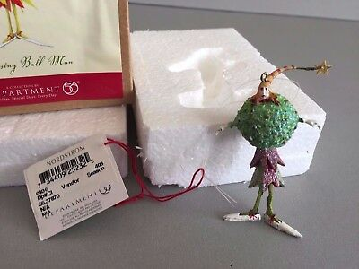 Dept 56  Patience Brewster Christmas Krinkles Kissing Ball Man Tree Ornament NIB