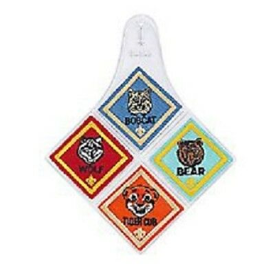 The Official BSA Cub Scout Rank Patch Diamond Emblem Holders New