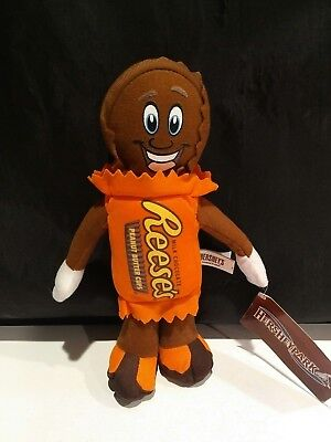 Reeses Peanutbutter  Cup Plush (Hersheys Park) Height 11 Inches-New
