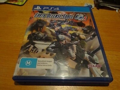 Earth Defense Force 4.1 The Shadow Of Despair Ps4 Playstation 4 *cheap*