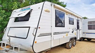 2012 Retreat Fraser Caravan Perfect On Site Cabin Flat Has The Lot *SEE VIDEO*