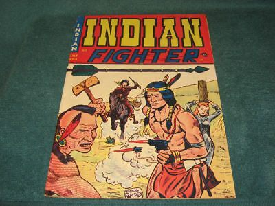 1950 Youthful Western INDIAN FIGHTER #2 Doug Wildey Bondage Cover HIGH GRADE!!