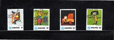 Singapore 1974 Universal Children's Day SG 241/4 Used