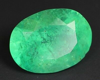 4 CT Natural Top Quality Colombian Emerald Loose Gemstone