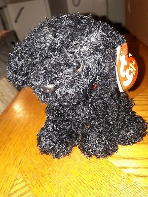 TY Beanie Baby Black Dog Outlaw Rare with tags