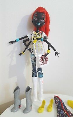 Wydowna Spider Monster High I Heart Fashion Mint Doll With Accessories Rare!!!