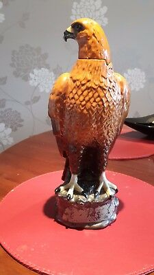 Beneagles Scotch Whisky Golden Eagle Decanter by Peter Thomson - J.G.Tongue 1969