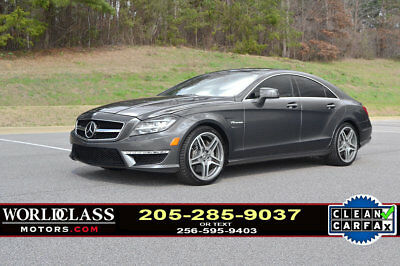 2012 Mercedes-Benz CLS-Class CLS63 AMG Loaded 2012 Mercedes-Benz CLS63 AMG sedan / low miles / nice! S E 63 65 13 14 15