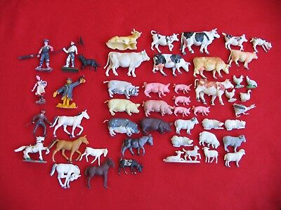 Mixture of Farm Animals over 50 years old