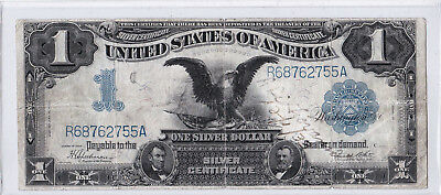 "$1.00 1899 SILVER CERTIFICATE. ""BLACK EAGLE"" FR 236. LARGE Higher Grade Note!"
