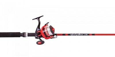 Jarvis Walker Cyclone 6' Spin Rod And Reel Combo Red / Black
