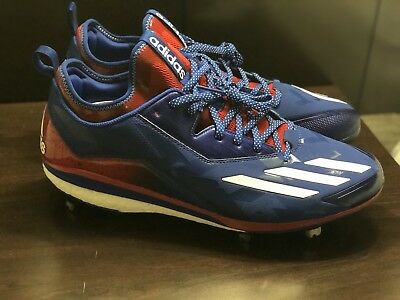 f2a642f99677 New Adidas Boost Icon 2.0 Kris Bryant Usa Metal Baseball Cleats Size 13.5  By3318