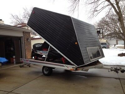 Enclosed Snowmobile Trailer