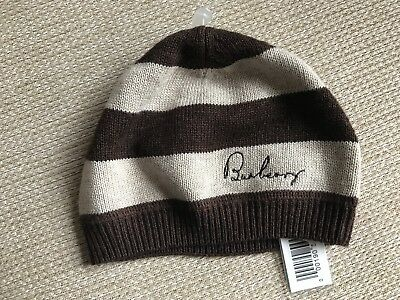Burberry baby hat new born 46 wool lana wol wolle ull uld