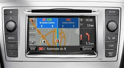 Code activation maps Toyota Touch & Go / Toyota Touch & Go Plus.