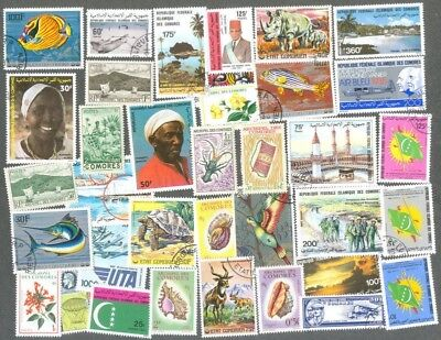 Burkina Faso 200 all different stamps collection-many thematics