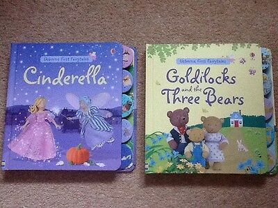 Usborne First Fairytales Cinderella And Goldilocks And The Three Bears