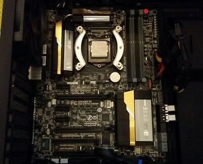 Intel i7 4770K Haswell CPU 3.5GHz and Gigabyte GA-Z87X-UD5H Motherboard combo