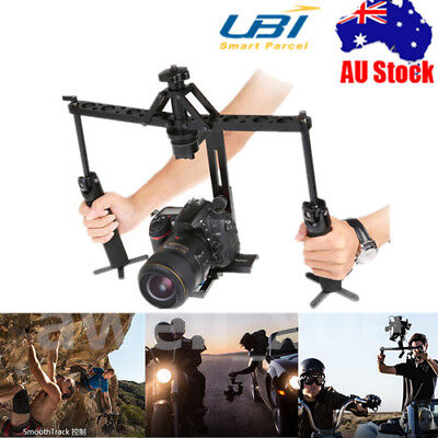 DUAL Handheld Spider Stabilizer Video Gimbal Steadicam Steady For DSLR Camera DV