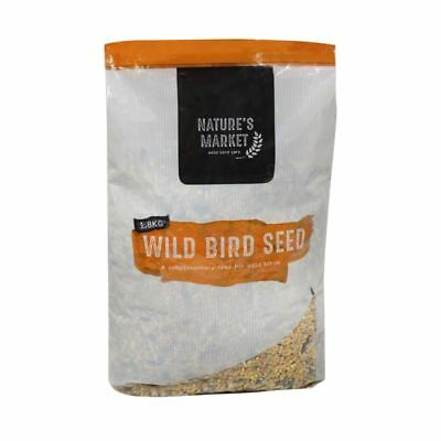 Kingfisher Wild Bird Feed Seed Blended Mix 1.8kg Bag Garden Food