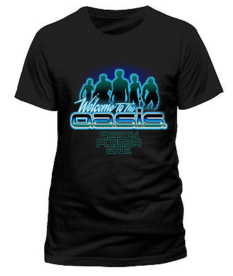 Ready Player One 'Welcome To The Oasis' T-Shirt - NEW & OFFICIAL!