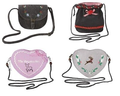 Ladies Dirndls Bag Seeking Fashion Wiesen Oktoberfest Heart Pouch Handbag