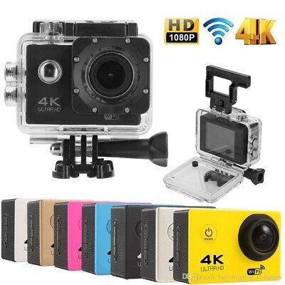 """Ultra HD 1080P Waterproof 2.0"""" Action Camcorder Sports DV Camera Go Car Cam Pro"""