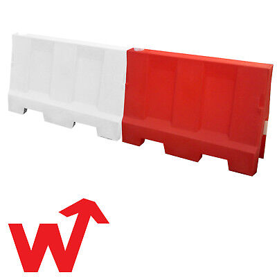 Evo Water Filled Safety Barrier 1.5m - Road Traffic Control