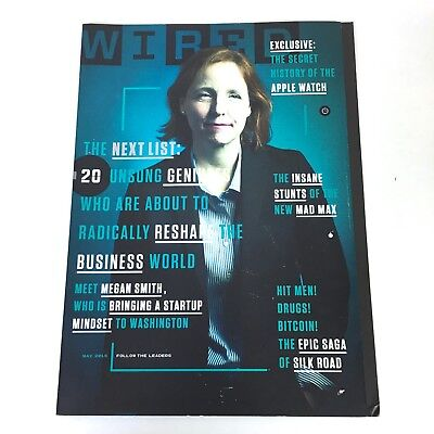 WIRED Magazine 23.05 May 2015: Unsung Genuises Apple Watch Silk Road Mad Max