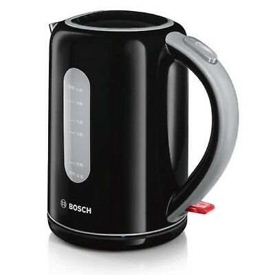 Bosch Flip Top Village Jug Kettle  TWK7603GB Black Brand New Free P&P
