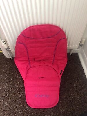 Icandy Peach Seat Liner Pink