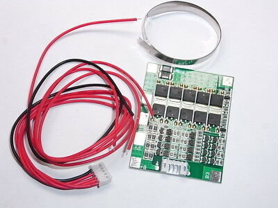 NEW 18650 PCM BMS 4S 30A Li-ion 14,8 V PROTEZIONE BALANCE + 30CM NICKEL
