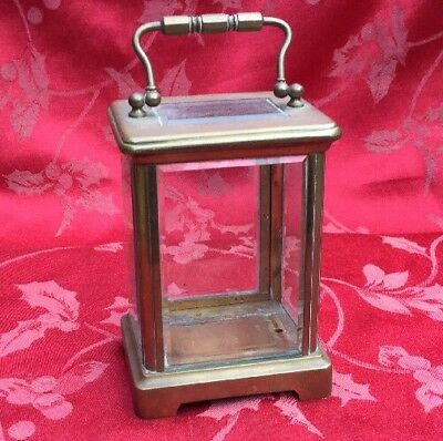 Good Quality Case From A French Carriage Clock For Spares Complete