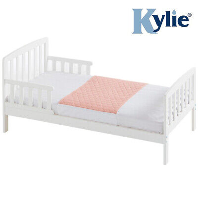 Kylie Junior Bed Pad - Pink - 1 Litre - Absorbent Bed Protection