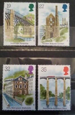 Gb 1989 Industrial Archaeology Mnh Stamp Set (Free Postage Offer )