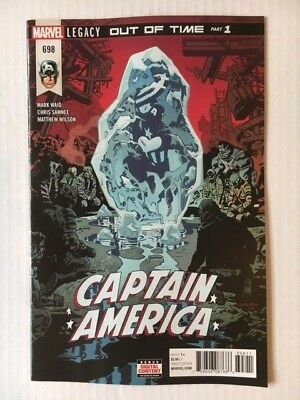 Marvel Comics: Captain America #698 (2018) - BN Bagged and Boarded