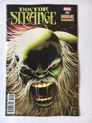 Marvel Comics: Doctor Strange #385 Hulk Variant (2018) - BN Bagged and Boarded